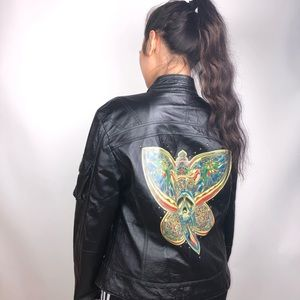 Vintage Wilsons leather rock and roll fashion